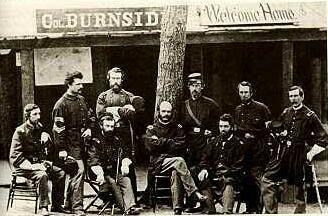 Burnside and Staff